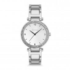 Forentina Bayan Beyaz Taşlı Kol Saati PS1093